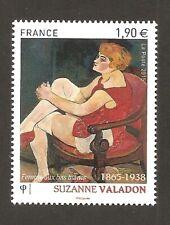 FRANCE 2015 - N°4977 FEMME AUX BAS BLANCS de SUZANNE VALADON  NEUF ** LUXE MNH