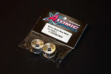 Atomic RC #AR-157 Mini-Z Felgen 1 Paar Disk front +3 offset chrom f. MR-02/MR-03