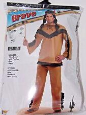 Size 42 Men's Western American Brave Costume Cosplay Halloween Dance