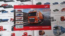 * Herpa Cars & Trucks News 05-06 2016 Brochure various Scales