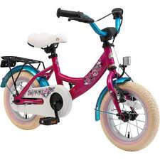 Bikestar Vélo Enfant 12 Pouces - Classique Berry & Turquoise