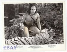 Sabu barechested w/knife VINTAGE Photo
