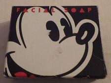 "Walt Disney Resorts Mickey Mouse Facial Soap Bar New 2.5"" x 2"""