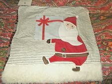 POTTERY BARN KIDS SANTA'S DELIVERY DECORATIVE PILLOW cover, 16""