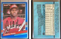 Charlie Hayes Signed 1991 Donruss #278 Card Philadelphia Phillies Auto Autograph