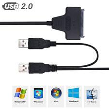 USB 3.0 zu SATA 2.5 Adapter Konverter Adapter Festplatten SSD HDD Laufwerke NEW