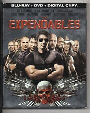 The Expendables (Blu-ray/DVD, 2010, 3-Disc Set) - BRAND NEW