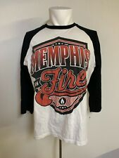 Memphis May Fire Baseball Shirt Size Large