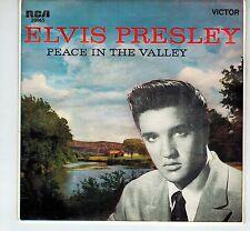 MFD IN AUSTRALIA ORANGE LABEL PICT SLEEVE EP 45 RPM ELVIS PRESLEY : PEACE IN THE