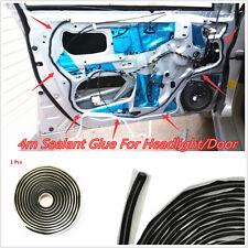 4M Car Windshield Door Trim Sealant Black Butyl Rubber Headlight Reseal Retrofit