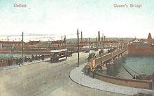 VIntage Postcard-Queen''s Bridge, Belfast, Ireland - opened in 1849