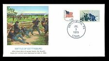 Commemorative Cover Epic Events History Battle of Gettysburg Gettysburg PA