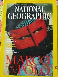 NATIONAL GEOGRAPHIC MAGAZINE MAY 2001