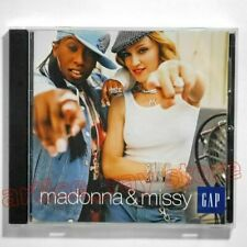 Madonna & Missy Into The Hollywood Groove Japan Promo CD GAP 2003