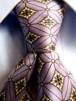 Men's Tino Cosma Cravatte Purple Silk Tie Made in Italy A27929