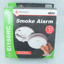 Aico Mains Powered Optical Smoke Alarm with Lithium Back-up Battery - Ei166RC