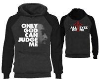 Tupac Hoodies Only God Can Judge Me 2Pac Sweatshirts Tupac Hooded Hip Hop Hoodie