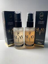 Lot of 2 Gerard Cosmetics Slay All Day Setting Spray 1.01 oz Open Box SEE DESC.