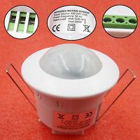 220V 360° Ceiling PIR Infrared Body Motion Sensor Detector Lamp Light Switch