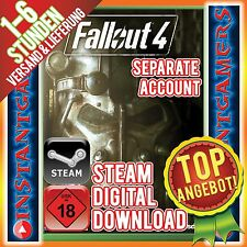 FALLOUT 4 Steam Separate Account [UNCUT] PC STEAM DL [SPIEL] FALLOUT IV KEIN KEY