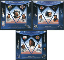 Russian space soviet cosmonauts Rossica exhibition 2013 39 MNH stamp sheets
