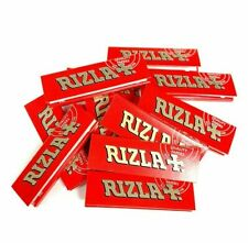 50x Booklets Rizla Red Cigarette Rolling Paper - FREE WORLDWIDE SHIPPING