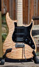 2007 Xotic XS-2 Custom 5A QUILT Top Electric Guitar w/Birds Eye Neck SSH + OHSC