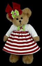 """10"""" CANDY BEAR*Bearington Bear*Plush*NEW*NWT*Peppermint*CHRISTMAS*173201"""