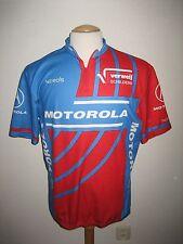 Motorola vintage USA jersey shirt cycling wielershirt trikot maillot size XL