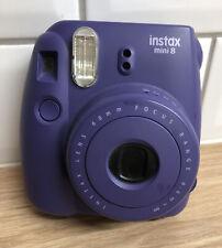 Fujifilm Instax Mini 8 Instant Film Camera Viola