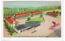 SUNNYSIDE MOTOR HOTEL, SUNNYSIDE, TORONTO: Ontario Canada postcard (C28813)