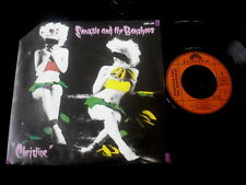 "SIOUXSIE AND THE BANSHEES/CHRISTINE/CUT CORNER/FRENCH PRESS 7"" SP"