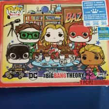 SDCC 2019 DC Funko Pop Tees The Big Bang Theory Bazinga! Size 2xl T-Shirt