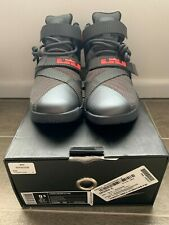 New - Nike Lebron Soldier IX, US 9.5, Grey, Lava