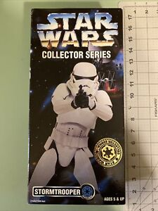 "Star Wars Collector Series STORMTROOPER 12"" action figure by Kenner 1996 MISB"