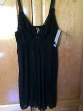 Tart Noir by Tart Collection Black Cami Top Size M NWT