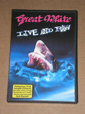 GREAT WHITE - LIVE AND RAW- DVD