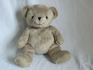 Mothercare My Smiley Face Teddy Bear Brown Soft Cuddly Toy