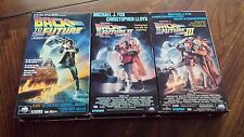 Back To The Future I II III 1 2 3 Lot VHS Tape Movies Trilogy Fox Lloyd