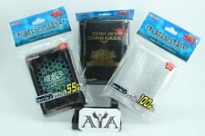 YUGIOH OCG 20TH ANNIVERSARY SLEEVES & ( ASSORTED ANIME SLEEVES) 55, 60 or 80 Pc