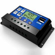 12 - 24V 30A LCD PWM Solar Regler Laderegler Batterie Regulator Controller LD981
