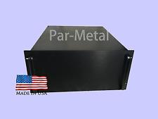5U DIY Audio Instrument Amplifier Rackmount Chassis RF Case Box Black 10 19209B