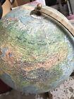 Vintage globe 1950