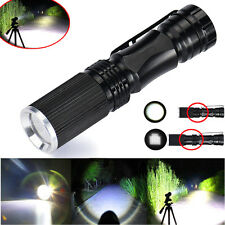 5000LM XPE Q5 LED Lampe Clip Mini Superhell Penlight Taschenlampe Fackel 14500