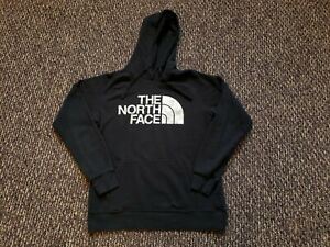 The North Face Silver Metallic Logo Hoodie Womens Size Medium Comfy Casual Cozy