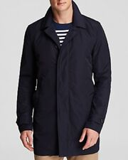 The Men's Store at Bloomingdale's Single-Breasted Trench Coat, Navy Blue, Large
