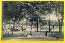 Carte Postale Ancienne FRANCE PARIS en 1906 Place des Fêtes à BELLEVILLE Kiosque