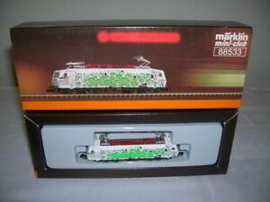 Märklin Mini Club 1:220 Z Gauge Electric Locomotive Dresden Bank Br 120.1 DB