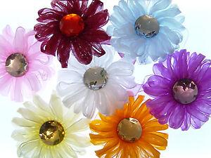 Cortinas Soporte Imanes Soporte Cortinas Flor 1 Par