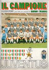 POSTER=JUVENTUS 1981/82=IL CAMPIONE/GUERIN SPORTIVO=CM 90X60=6/1982